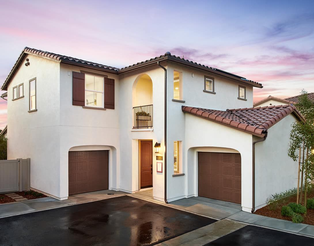 Cassis at Rancho Soleo - Plan 3 Model Home - Spani:Cassis at Rancho Soleo - Plan 3 Model Home - Spanish Colonial Exterior Style