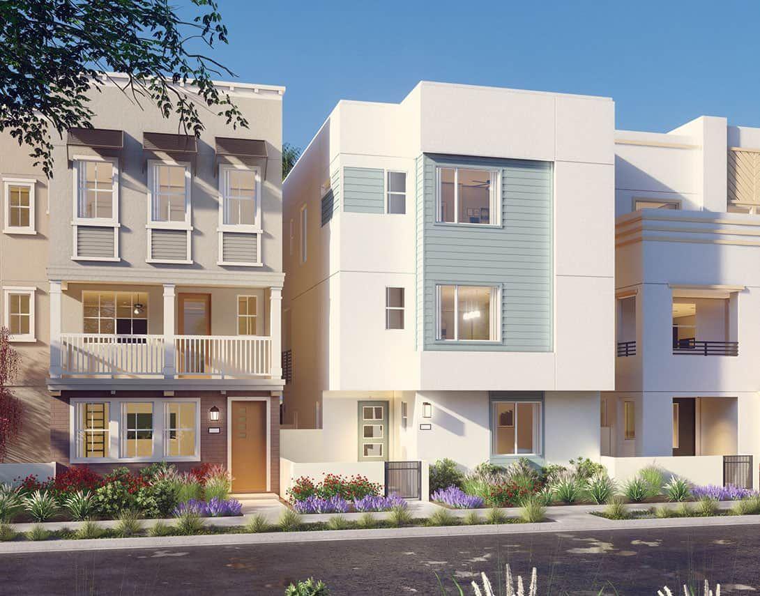 Tempo Plan 2A:Contemporary Exterior Style Rendering