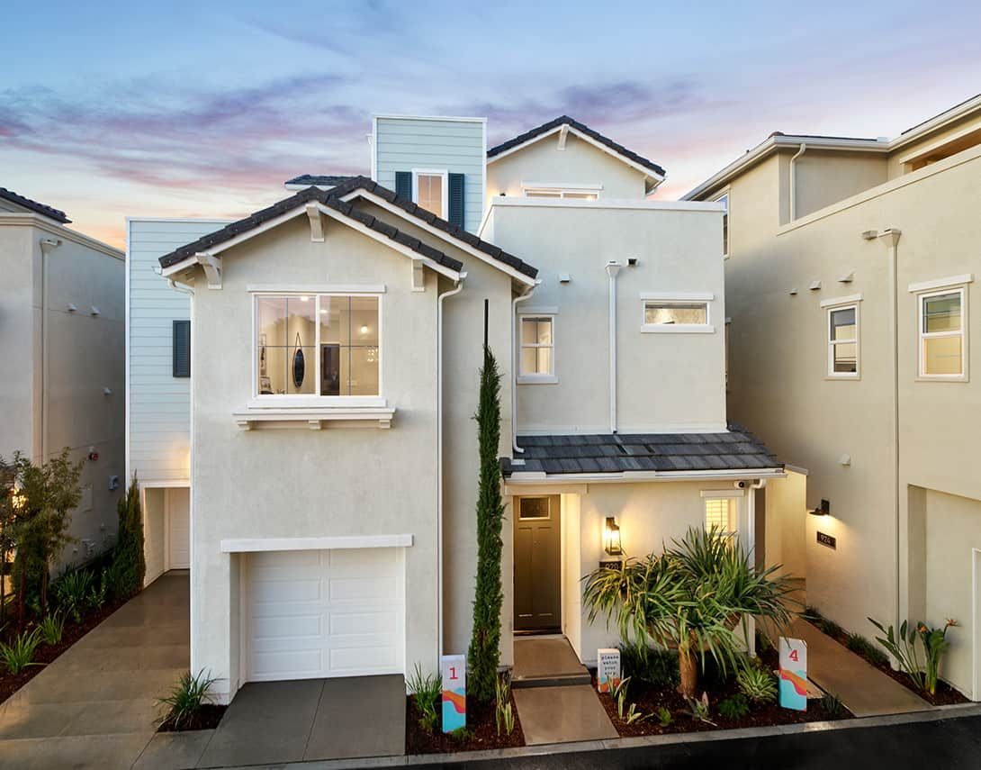 Cerise at Canvas Plan 1 Model Home Exterior