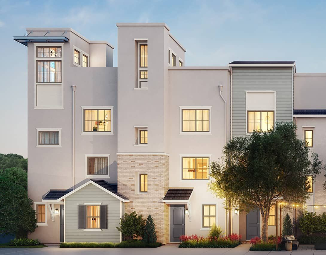 Claret Plan 1:Traditional Exterior Style Rendering