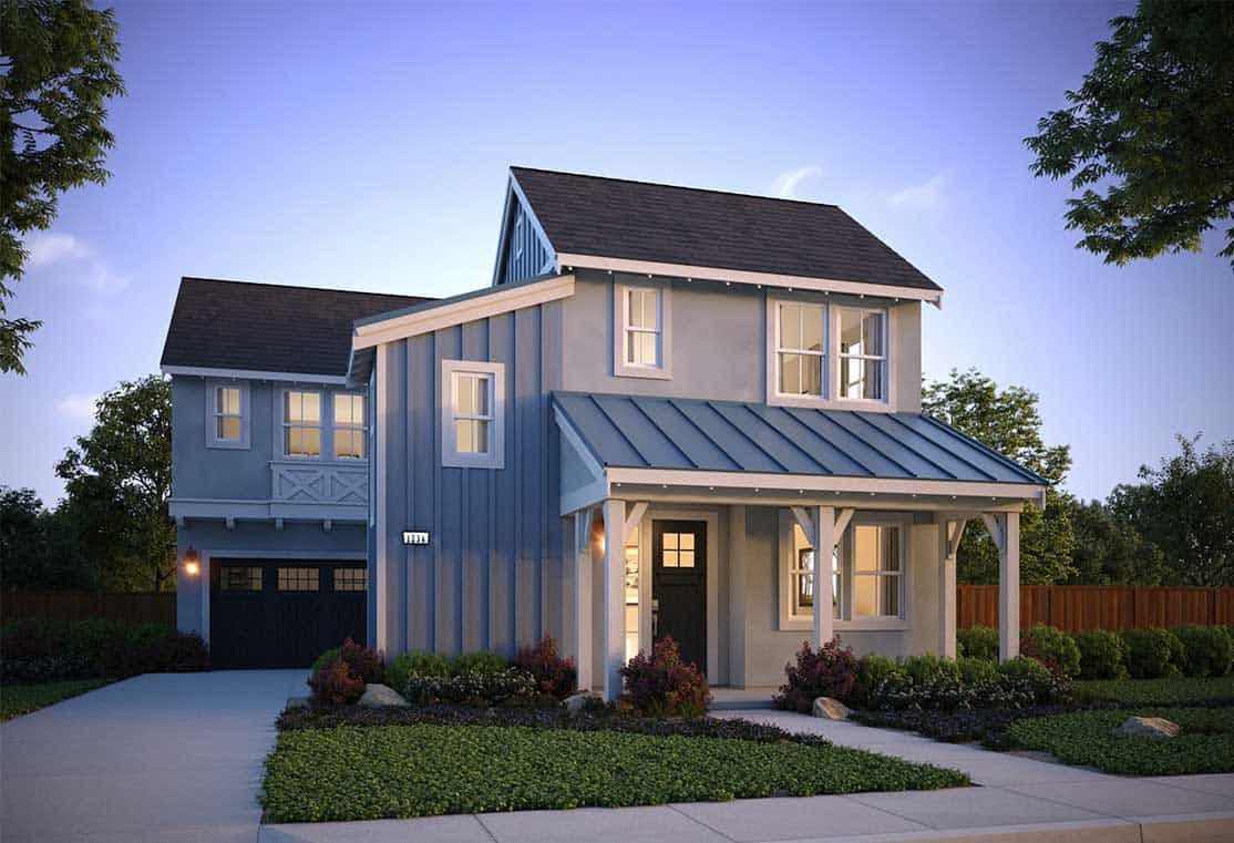 Farmhouse:Plan 6A