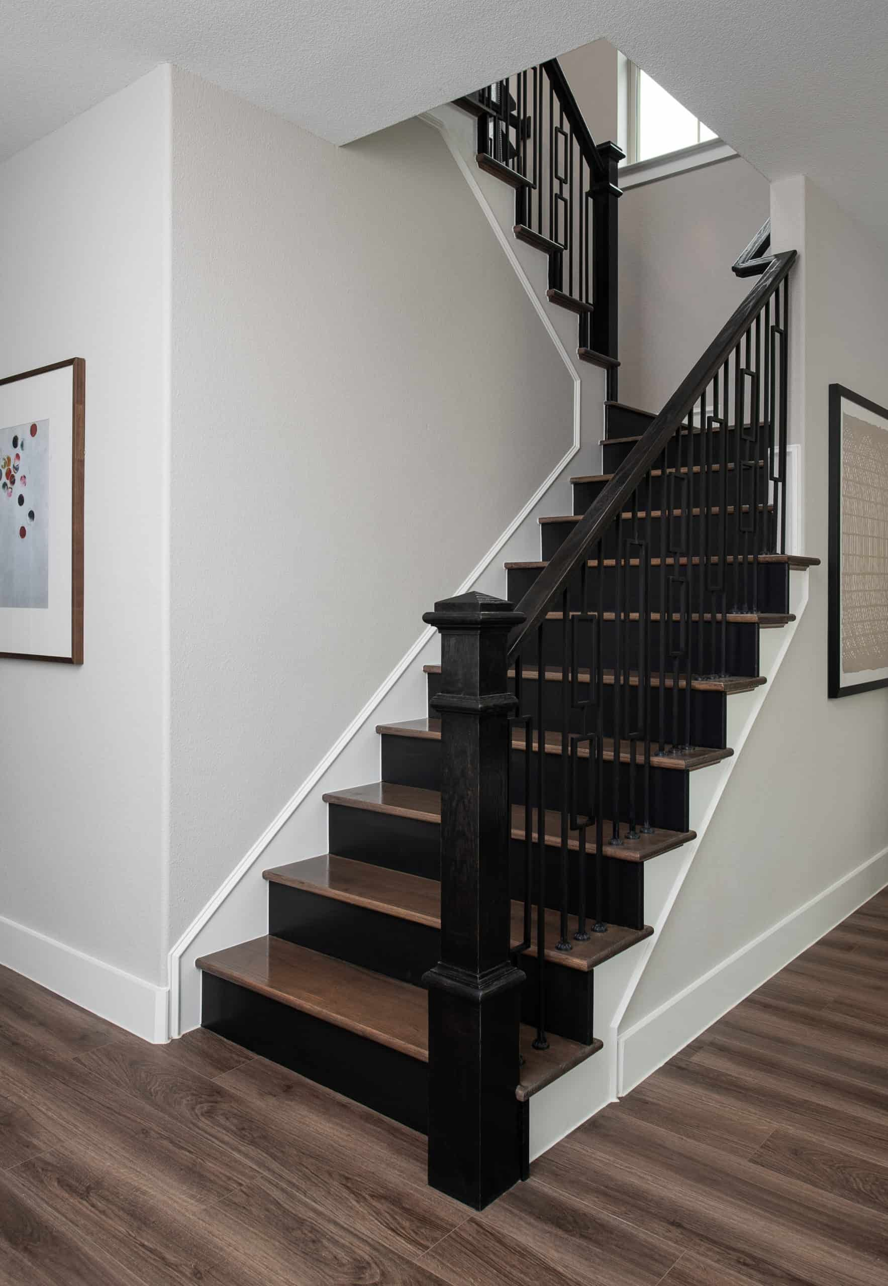 Staircase:Ivy Model Home