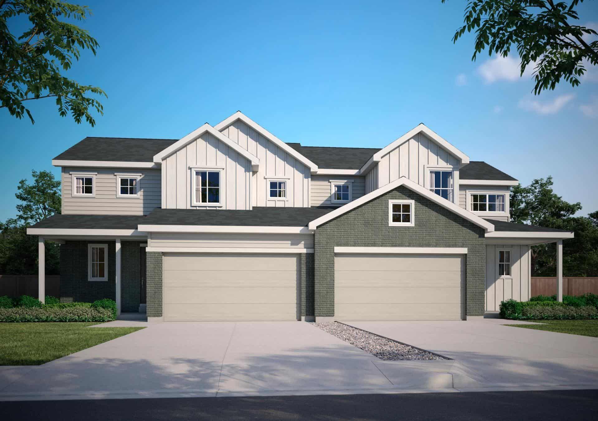 Farmhouse - A:Plan 3403 A   |   Plan 3402 A