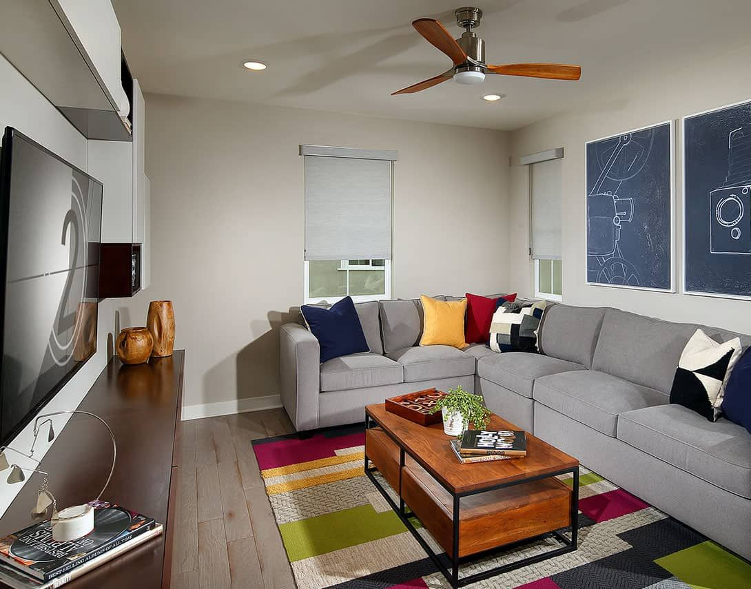 Spaces for Growing Families and Entertaining