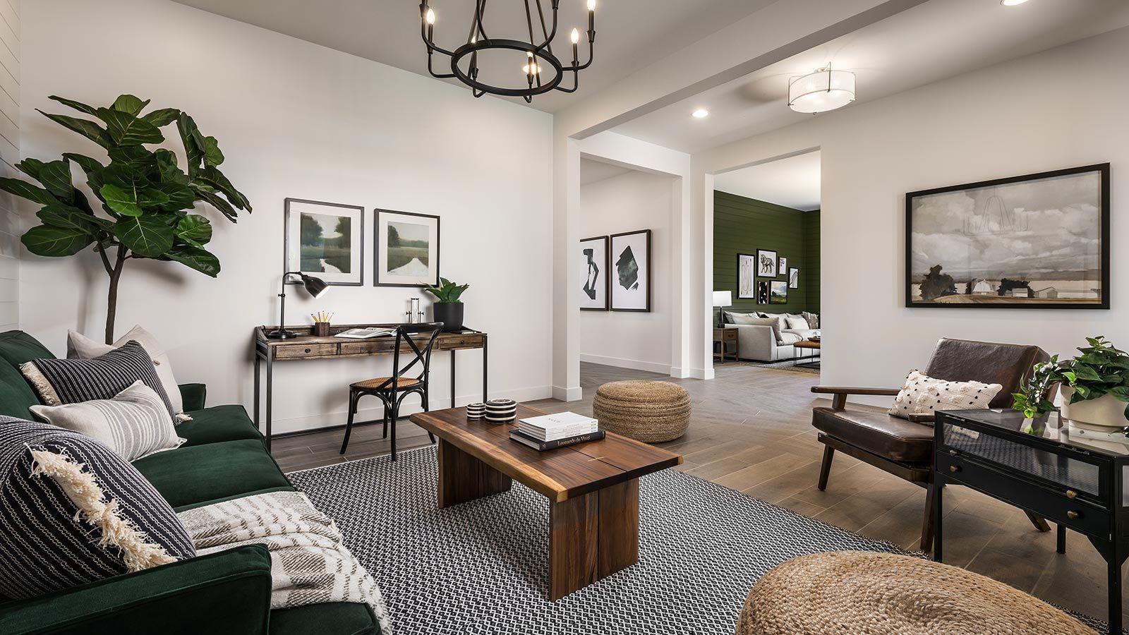 Pistache Model   Living Room