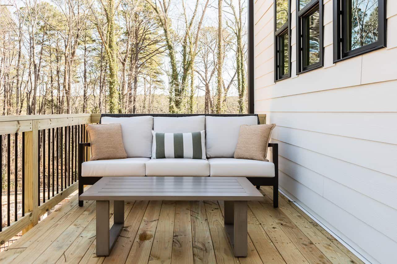 Exterior:Waterside | Residence 1- Outdoor Living/ Balcony