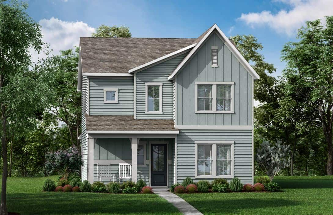 Elevation A:Exterior Rendering- Elevation A