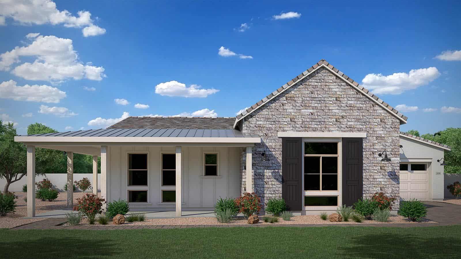 Farmhouse:Farmhouse Elevation