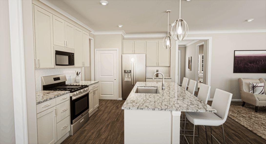 McLean Overlake| Kitchen Rendering