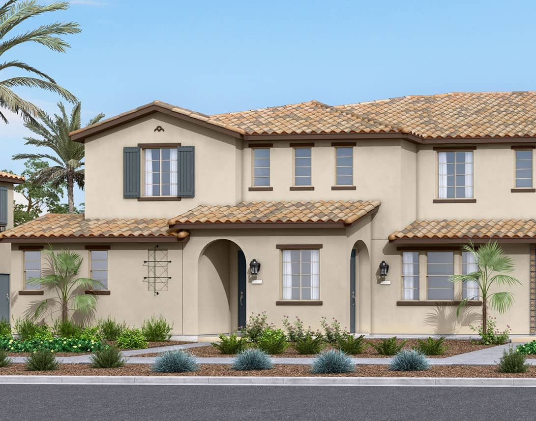 Birch Bend Plan 1A:Spanish Colonial Exterior Style | Preliminary Rendering