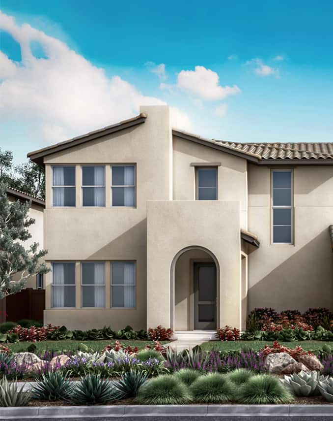 Starling at Skyline Plan 2A - Spanish Exterior Sty:Starling at Skyline Plan 2A - Spanish Exterior Style Preliminary Rendering