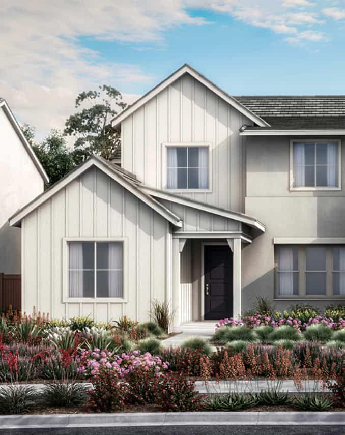 Starling at Skyline Plan 1B - Farmhouse Exterior S:Starling at Skyline Plan 1B - Farmhouse Exterior Style Preliminary Rendering