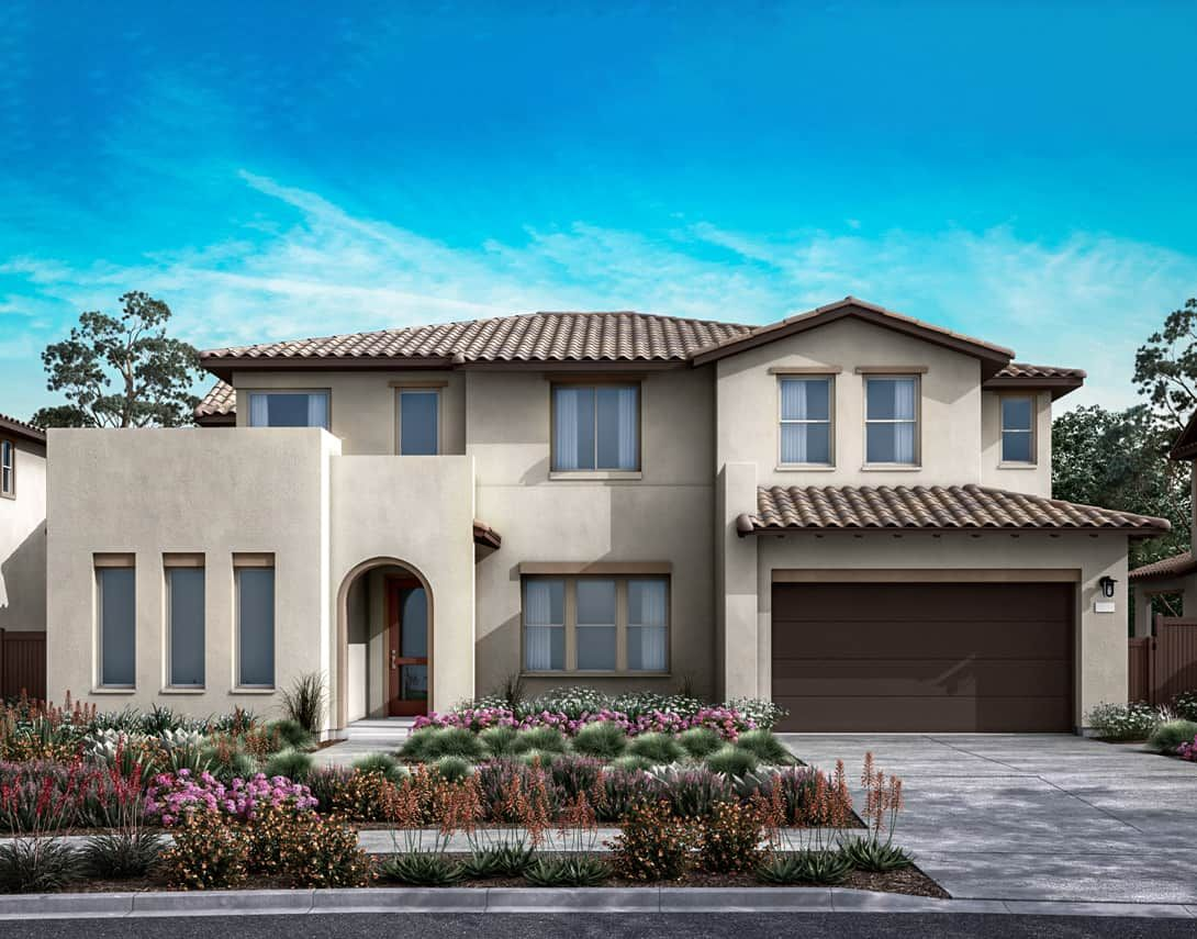 Starling Plan 1A:Spanish Exterior Style | Preliminary Rendering