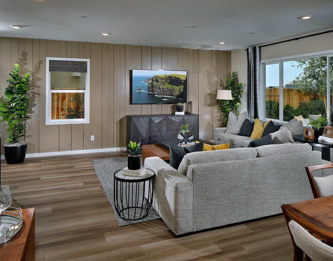 Illumination at Solaire Plan 1 Living Room