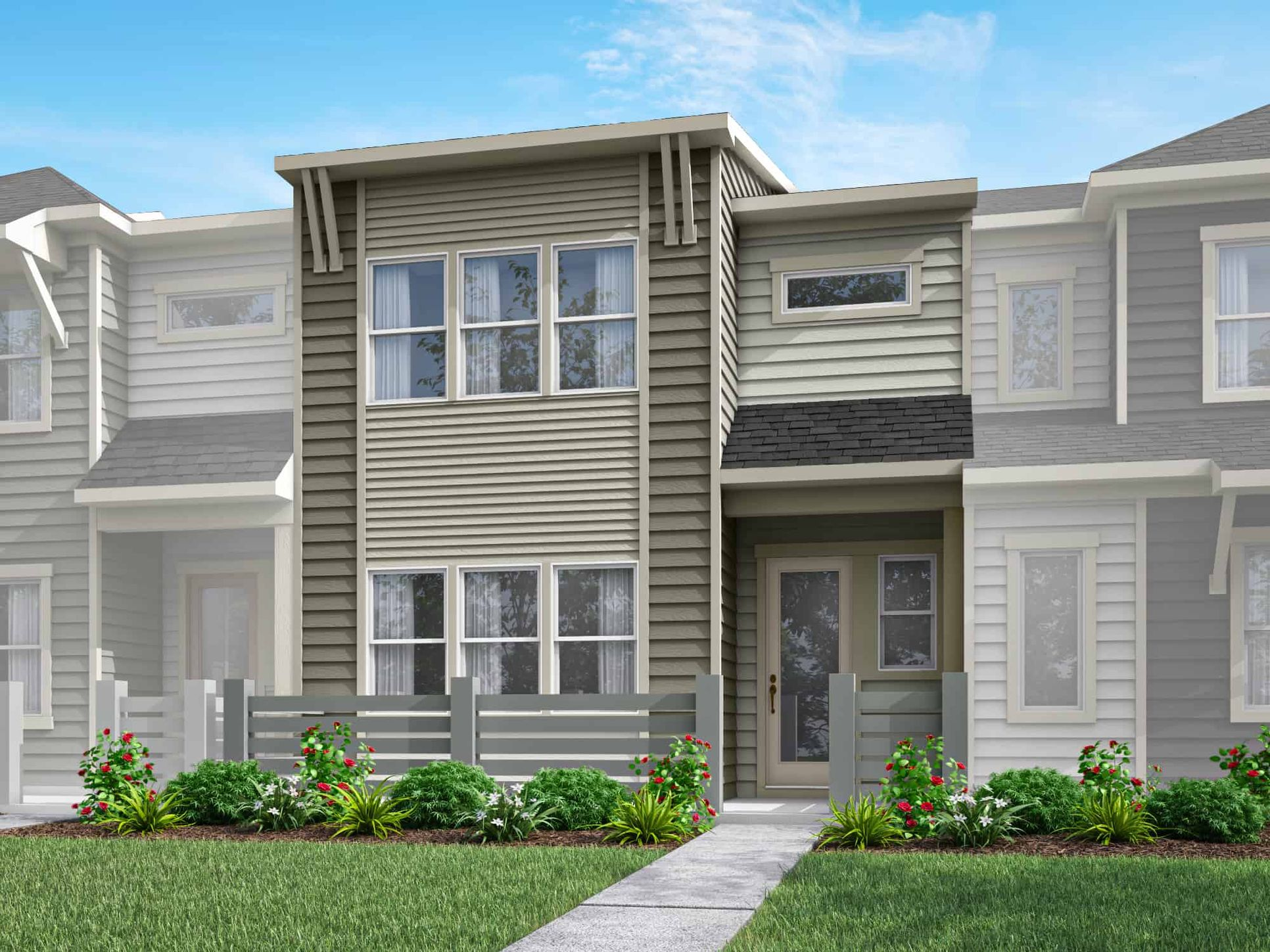 Pennant Square | Plan 1 - Exterior Style A