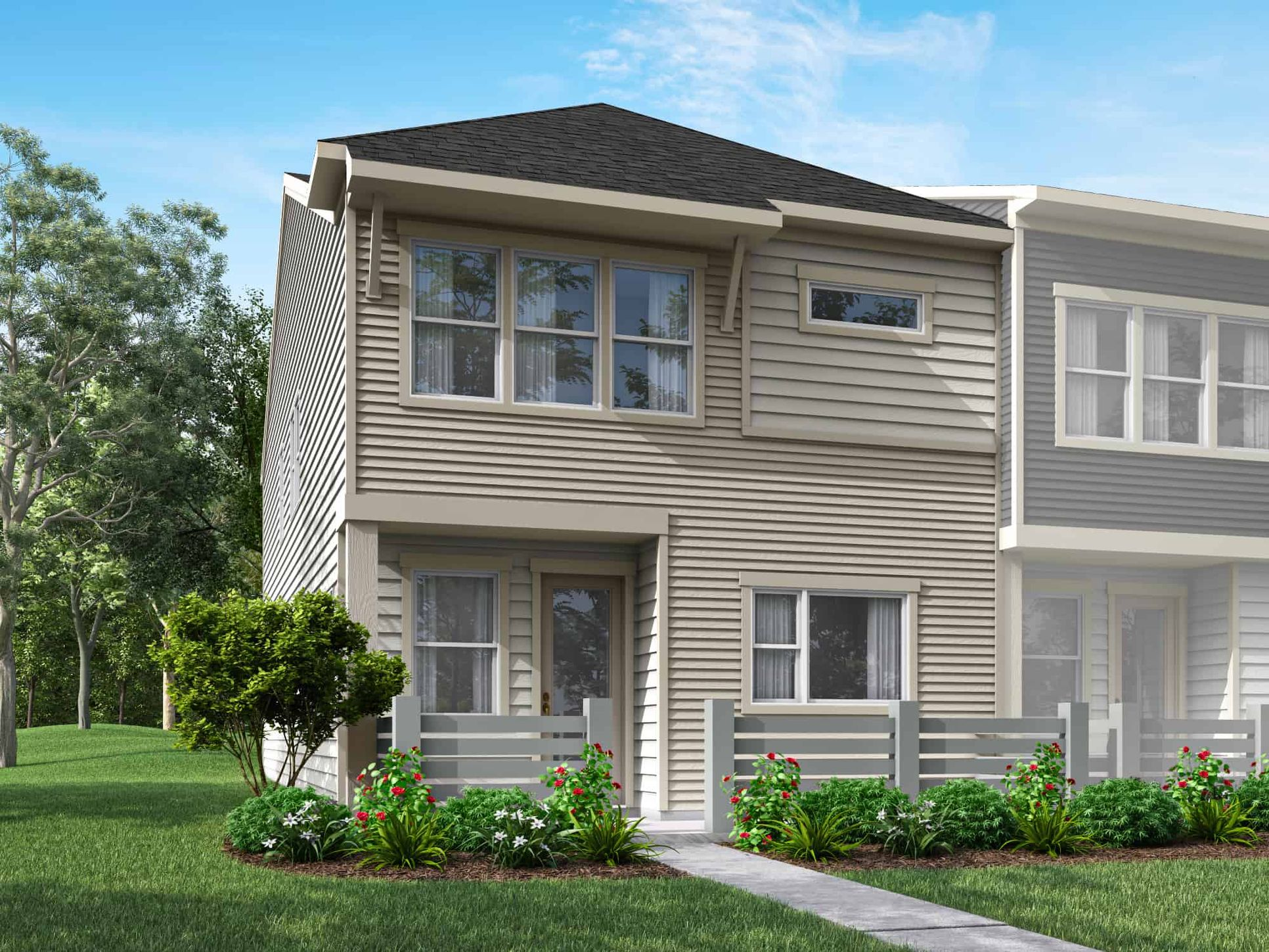 Pennant Square | Plan 2 - Exterior Style A