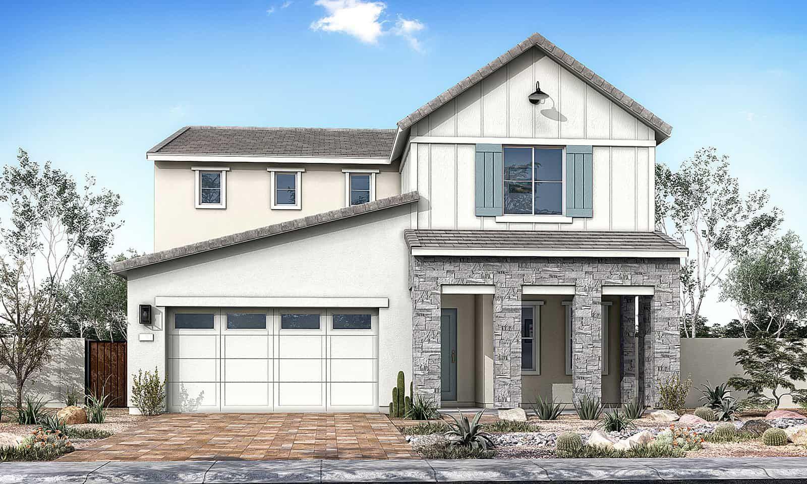 Willow Plan 40-9 Farmhouse Elevation C
