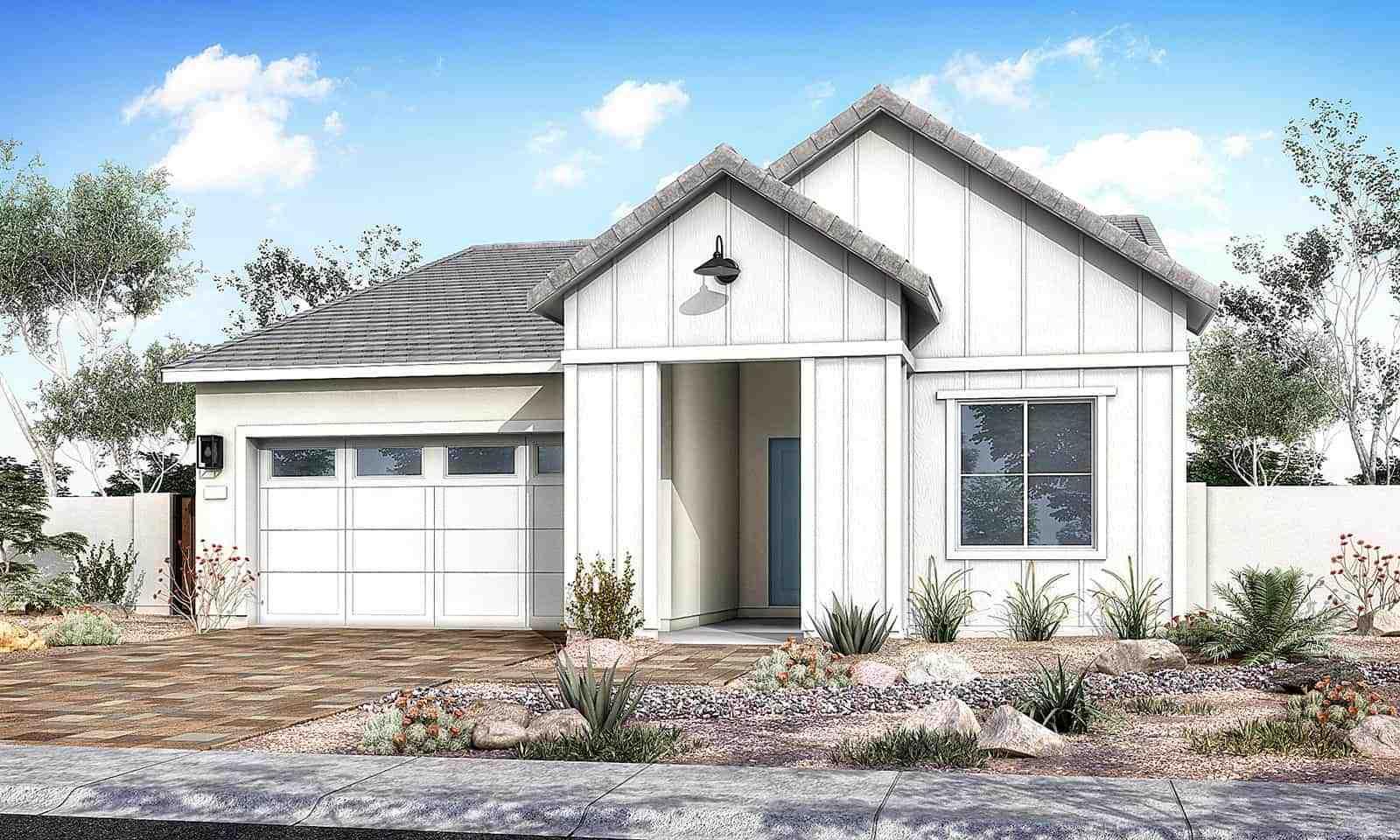 Cedar Plan 40-5 Farmhouse Elevation C