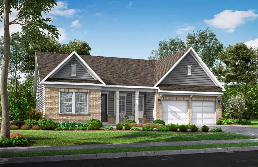 McLean Overlake | Plan 1 Exterior Style A