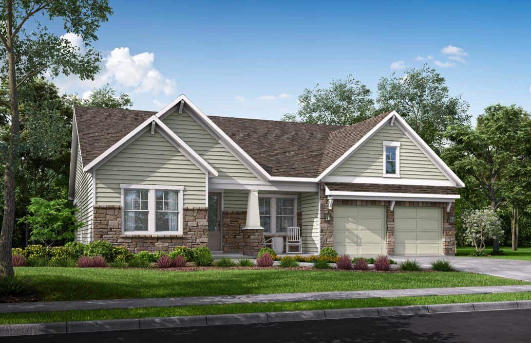 McLean Overlake | Homesite 171 Exterior Rendering