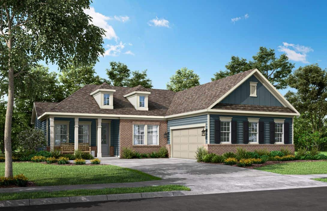 McLean Overlake | Plan 3 Exterior Style A