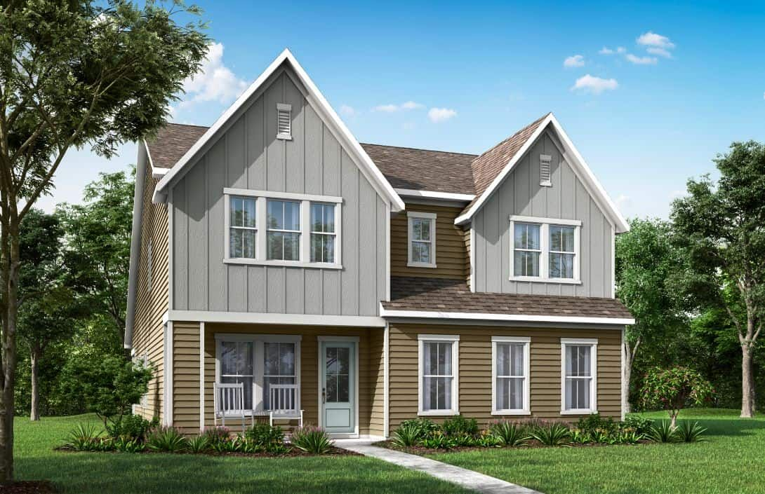 Mayes Hall | Homesite 5 Plan 3 Exterior Style A:Mayes Hall | Plan 3 Exterior Style A