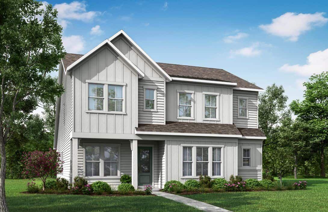 Mayes Hall   Homesite 6 Plan 3 Exterior Style B