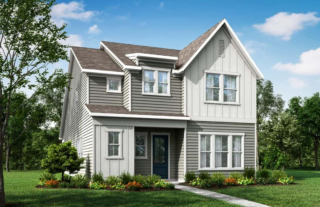 Mayes Hall | Plan 1 Exterior Style A