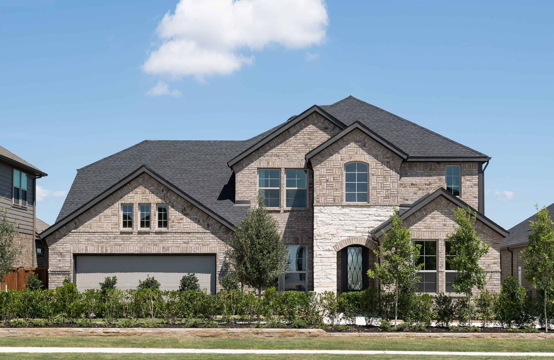 Front Exterior:Logan Model Home