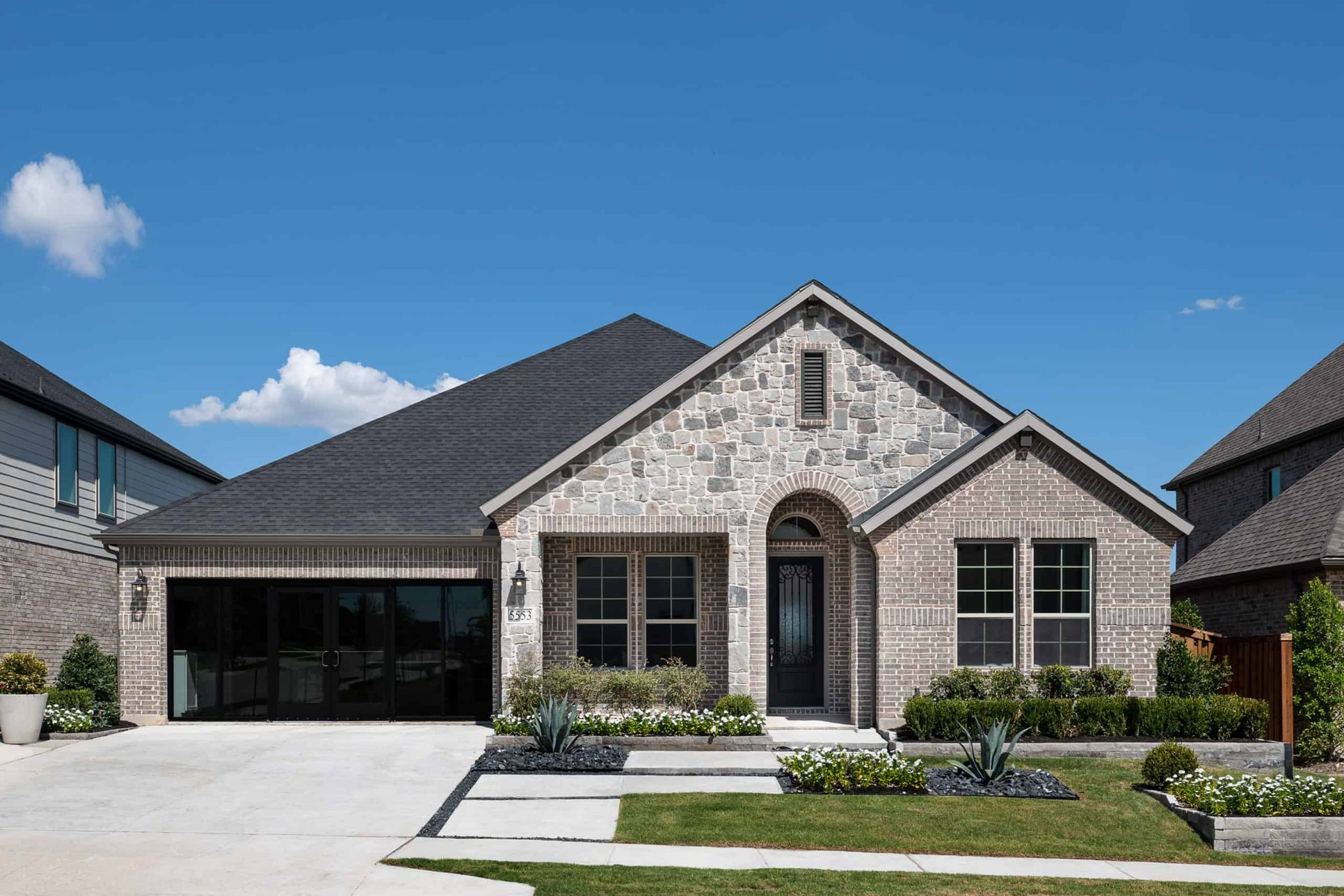Front Exterior:Bryson Model Home