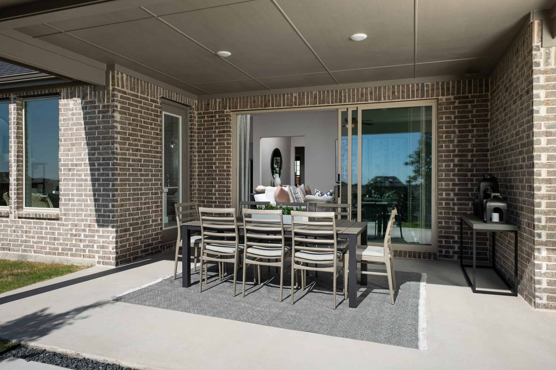 Covered Outdoor Living:Bryson Model Home