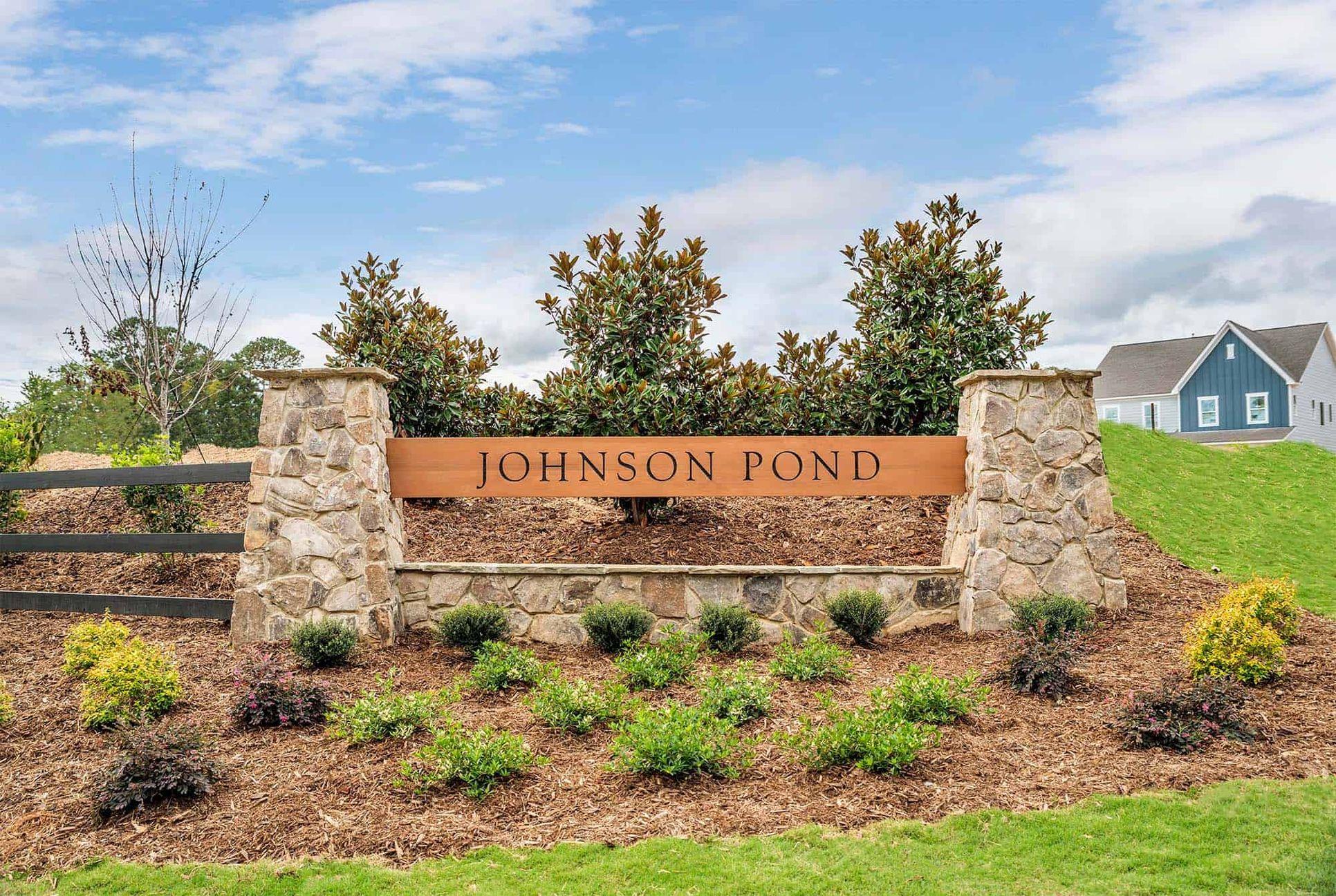 Johnson Pond Entry Monument