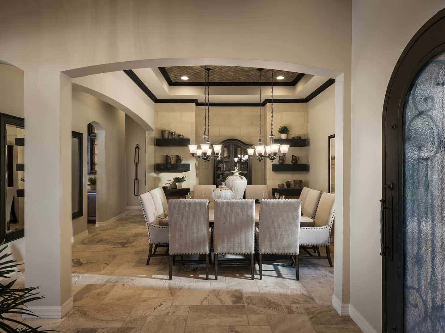 Palo Verde Model | Foyer and Dining Room