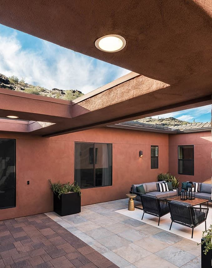 Alta Plan 2 Model | Courtyard