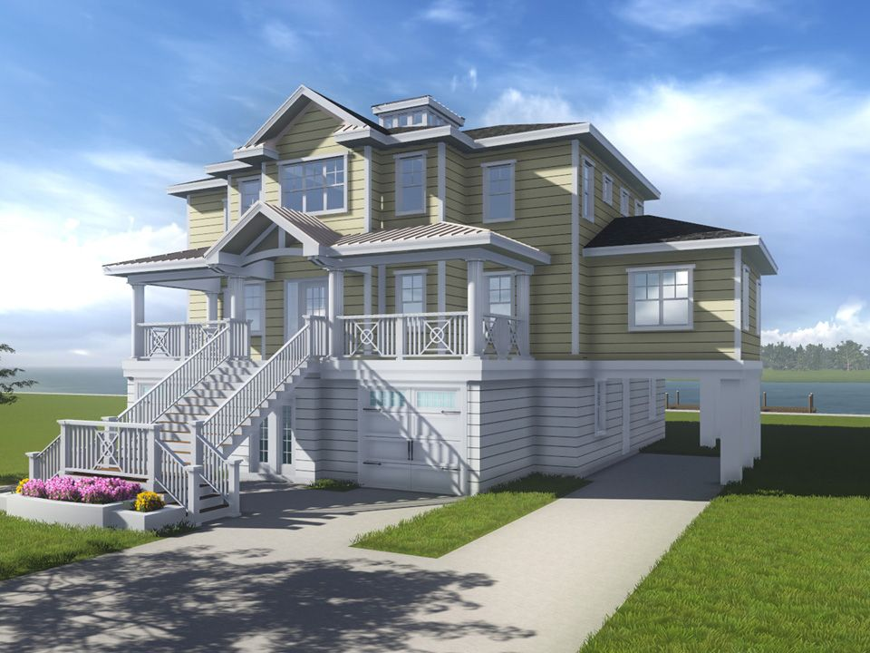 The Hatteras:PRICE DOES NOT INCLUDE LOT
