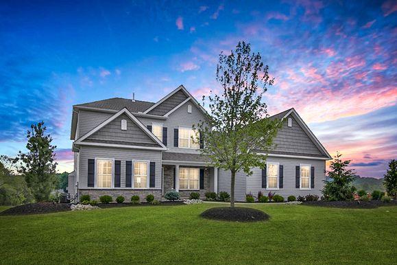 Millbrook Estates- Sienna Model Home Exterior