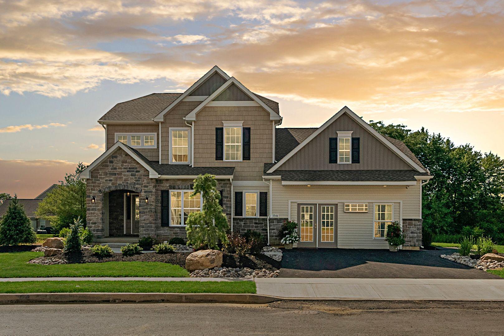 Millbrook Estates- Vynecrest Model Home Exterior