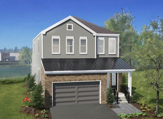 The Shaw:Exterior Elevation Rendering