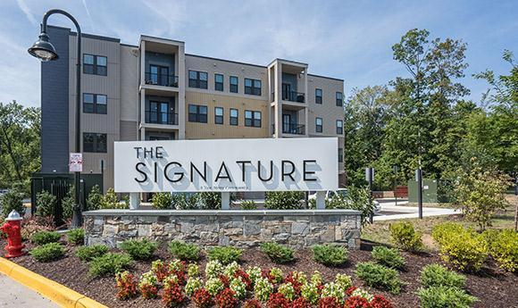 The Signature:Exterior Elevation