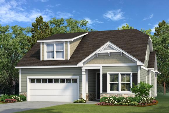 Elevation C with Dormer