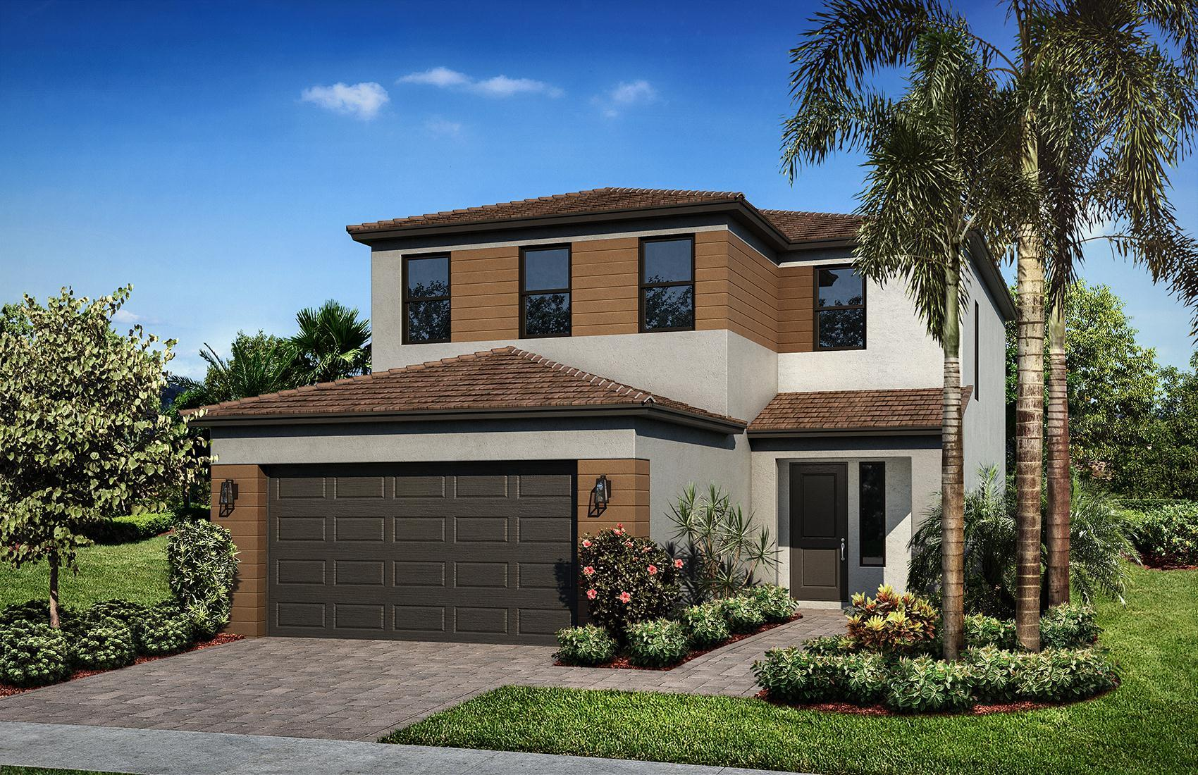 Sand Dollar 5 Contemporary Elevation