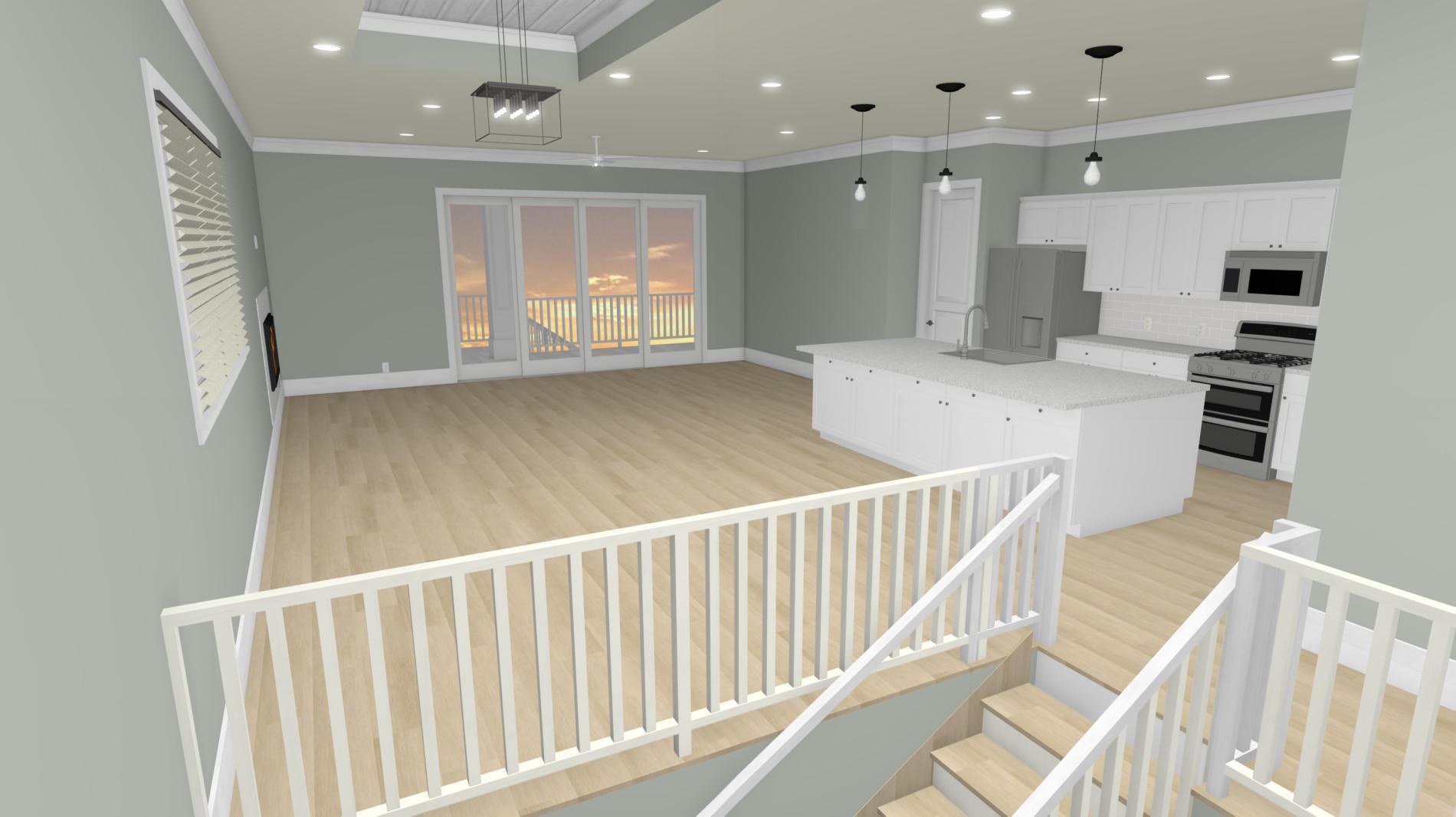 Foyer to Livingroom:Foyer to Livingroom