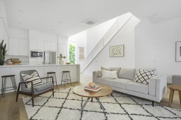 CUE NoHo:Plan A4 Model Home