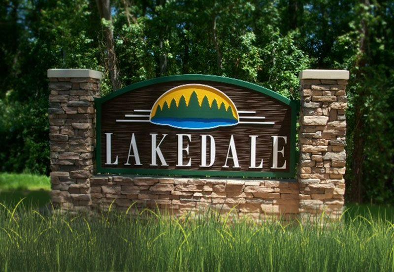 Lakedale:Entrance to neighborhood