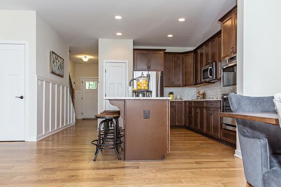 The Huntington kitchen and entryway:Huntington