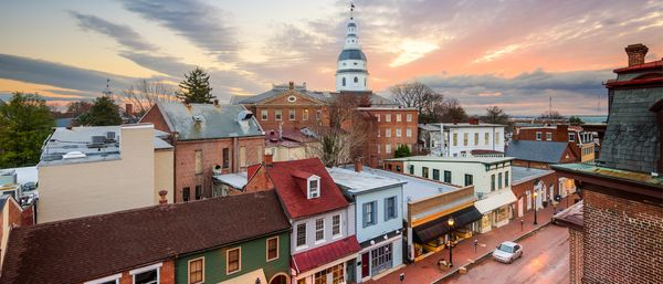 Annapolis Townes at Neal Farm:Downtown Annapolis is your neighbor