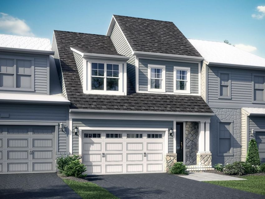 Two Rivers Craftsman Bungalows: Residence Bridgewa:The Bridgewater by Winchester Homes - Elevation 01