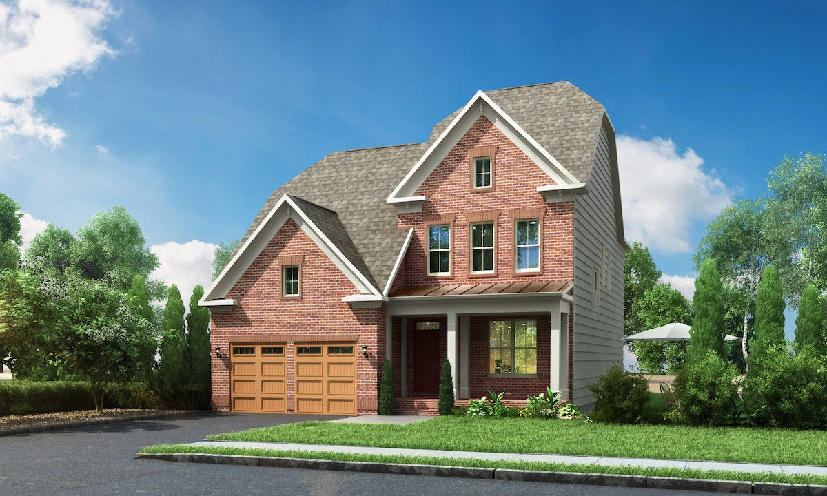 Winchester Homes - uncategorized - 1065:The Fuller at Cabin Branch Classic Series - Elevation 01