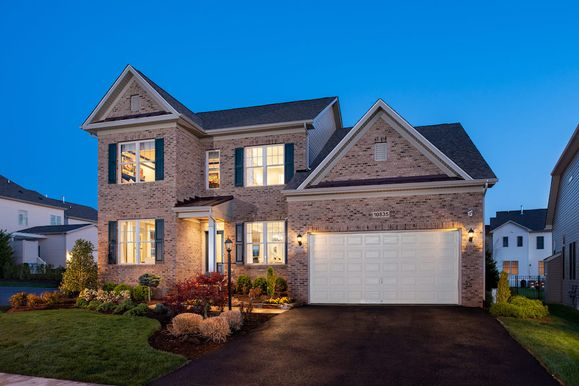 Winchester Homes - uncategorized - 2062:The Mason by Winchester Homes: Elevation 94