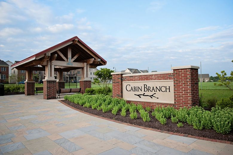 Cabin Sign:Cabin Branch by Winchester Homes